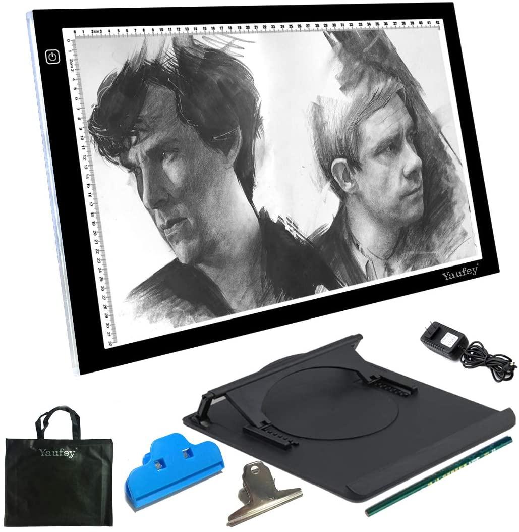 A3 Light Box,Yaufey Portable Thin LED Artcraft Drawing Board
