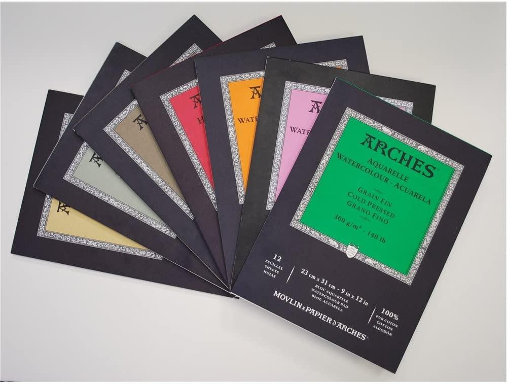 Arches Watercolor Paper Block, Cold Press