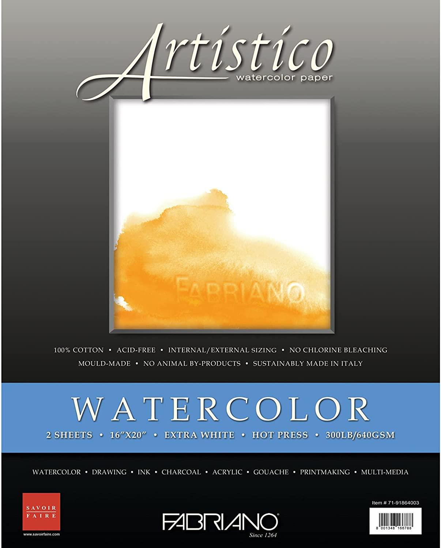 Fabriano Artistico Watercolor Sheets