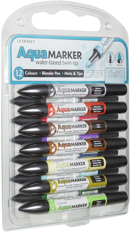 Letraset 9.6 Aqua Marker