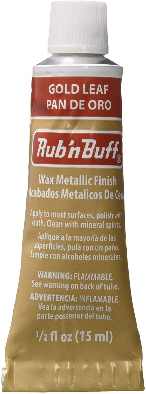 AMACO Rub'n & Buff Wax Metallic Finnish