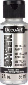DecoArt Silver Paint